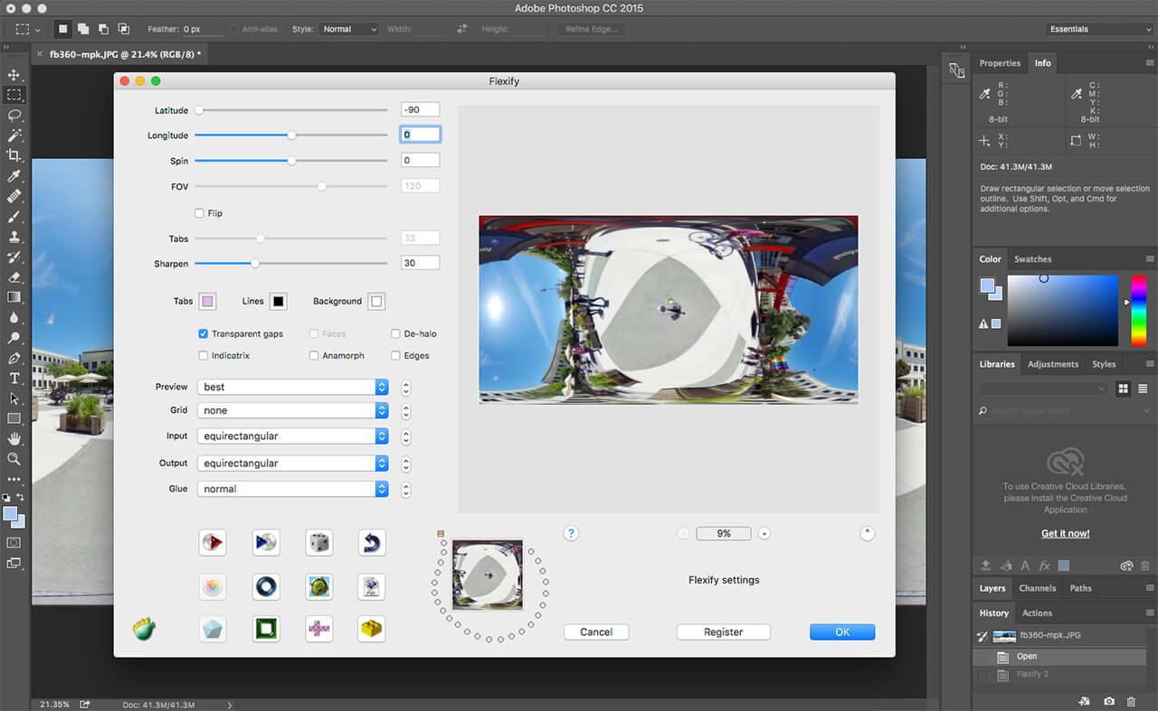 Photoshop UI